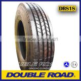 china brand DOUBLE ROAD low profile 11r22.5 tyre for truck