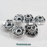 Wholesale New Arrival 10mm Alloy Flower Shape Bead Caps For Making Jewelry PB-BC001