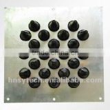 wall entry tools (24 holes) / cable entry window / telecom cable entry plate