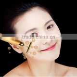 electric face-lift rod face massage device emperorship face-lift tools 24k gold beauty bar