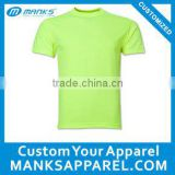neon dyeing t shirts bright orange, birght green