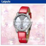 2016 relojes importados de china rose gold women watches stainless steel sapphire crystal watch jewelry