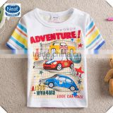 (s8105) 2-6Y baby summer clothing wholesale manufacturer kids wear boys t shirts o-neck short sleeve tshirts