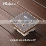 Factory Wallpad Black Wall Embedded USB 3G WiFi Smart Socket AP Router Repeater Phone WPS USB Wireless Wall Charger Socket