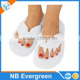 Memory Foam Pedicure Slippers, Spa Slippers with Cushioning Memory Foam&Toe Separators