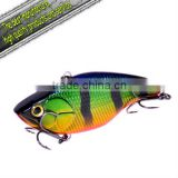 2012 fishing tackle minnow hard plastic fishing lure Fury Trembling 72mm 15g