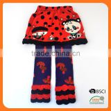Baby Legging with wide back panel baby girls tube sock