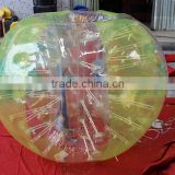 human inflatable body bumper ball, inflatable buddy bumper bubble ball for adults