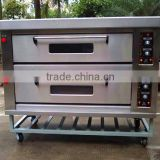 Energy-saving 2 Deck 6 Trays Gas Oven for bakery                                                                         Quality Choice