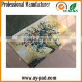 AY Heat Transfer Printed Rubber Floor Carpet Polyester With Cute Design For Home / Office, Waterproof Bathroom Floor Mats