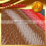 pvc textile material stocklot textile and leather fabric from China supplier