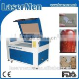 Widely use Lasermen brand laser cutter for jeans or clothing