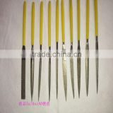 10 PCS Diamond Needle File Files Set (5*180*70mm) 120 Grit Coating for Metal Stone Glass