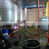 Refined oil light yellow waste rubber recycle to oil plant Heating cycle in vitro