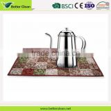 2016 Bamboo Coffee Cup with customized printing dining table mat