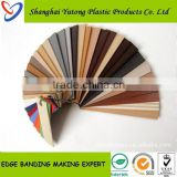 hot sale plastic edge band furniture strips/door edge trim plastic