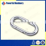 High Quality Surface Treated Straight Type Stainless Steel Carabiner for Dog Leash for Sale
