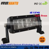 Hot sell products!!!Diecast aluminum housing spot BEAM led light bar for truck /roof led light bar/Model: HT-1936 4D