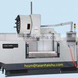 Newest 3 axis cnc vertical machining center for aluminum window and door with manufacturer price