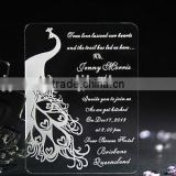 customized acrylic wedding invitations wholesale