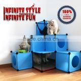 Large Capacity DIY Cat Tower Cat Tree Kit Build Your Own Fully Customizable Cat House Manufacturer in China