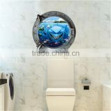 2015 new Simulation Creative Windows Nemo shark children's room bedroom 3d wall stickers removable high quality Z-2-001