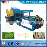 Low consumption Hemp automatic decorticator machine