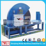 Horizontal hydraulic Natural rubber bale cutting machine