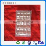 16 Pcs Clear Plastic Mcaron Box