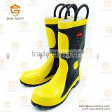 Firefighting fireman fire rescue anti-chemical and electrical insulation boots-Ayonsafety