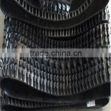 410x87xlinks rubber track,rubber crawler track undercarriage for kubota combine harvester