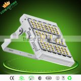 180Degree adjustment 120w led tunnel light 150w with silvery cover