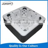 Wholesale luxury massage bathtub spa double shower massage bathtub whirlpool bathtub bubble spa
