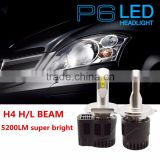 New Arrival 55W H4,H7,H8,H9,H10,H11,9004,9007, D1,D2,D3,D4 High low beam Canbus LED car headlight , auto LED headlight kit