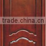 water proof solid wooden door wholesale commercial wood laminated door