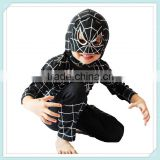 Spiderman Black Venom Child Costume spider-man Costume Carnival/Halloween Hero Costume Child Full Body Spandex Spider Man Suit