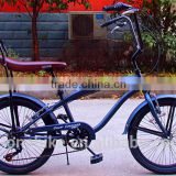 kids boy beach cruiser bike/adult beach cruiser bike/standard beach cruiser chopper bike