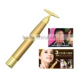 best selling skin tightening beauty care face for small business 24K gold beauty stick for women