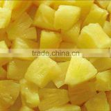 2016 new crop fresh material canned pineapple broken slices 454g