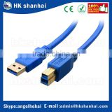 wholesale electronic cable 3ft 6ft USB 3.0 SuperSpeed printer cable type a to b m/m male to male 5 gbps data usb cable