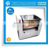 50 Liter Stainless Steel or Painted Body choose 3 Kinds of blades optional for Dough Mixer Noodle