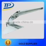 Tuopu stainless steel 316 plow anchors boat stainless steel plow anchor plough anchor for boat