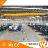 top quality workshop 20 ton electric hoist trolley double girder overhead crane cabin control