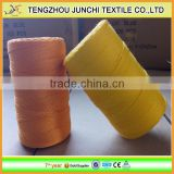 210D/12ply-210D/36ply colorful FDY sewing thread polypropylene baler twine fishing twine