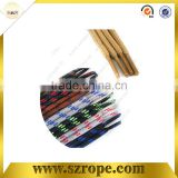 2014 Hot sale round metal tip shoelace