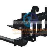 China supplier manufacturing skid steer loader attachments pallet fork frame