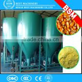 Middle east vertical type animal feed mixer and crusher/ cattle food processing line/crushing mixer