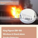 wireless gsm alarm smoke detector SM-100