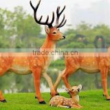 factory fiberglass decoration product hot sale garden fiberglass animal