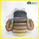 YS15974 the bee metal handicraft waterproof mailbox for home decoration